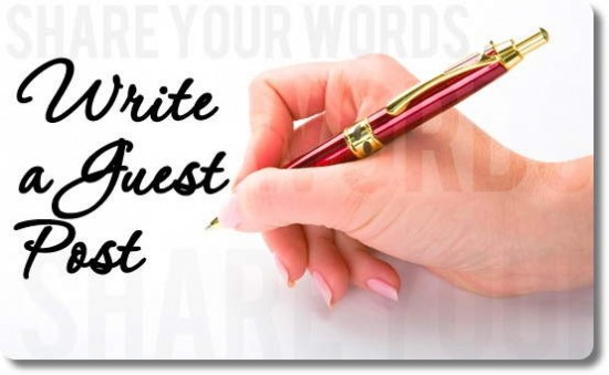 write a guest post handwriting