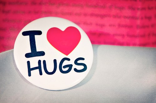 i love hugs. do you?