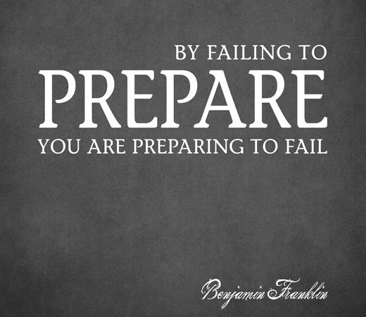 prepare and win with your partner
