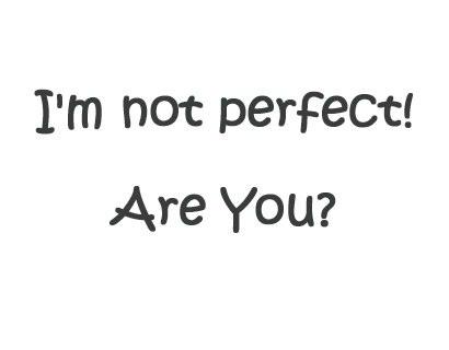 I'm me so accept it!