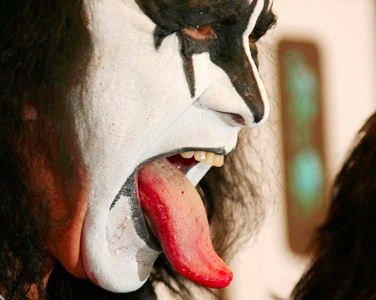 use the Gene Simmons Tongue technique with the next sex session