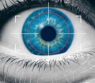 male eyes are always looking and scanning