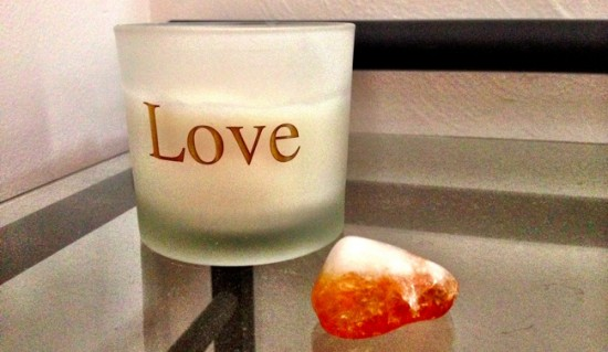 Here's my own bedside gratitude stone