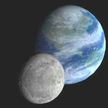 earth and moon is like distance in a relationship