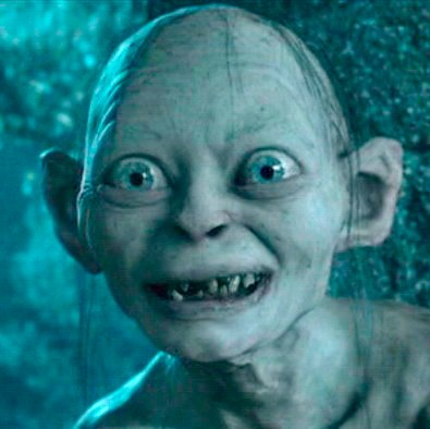 gollum cant hold down a relationship