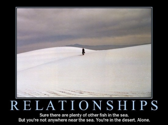 relationships - plenty of fish in the sea
