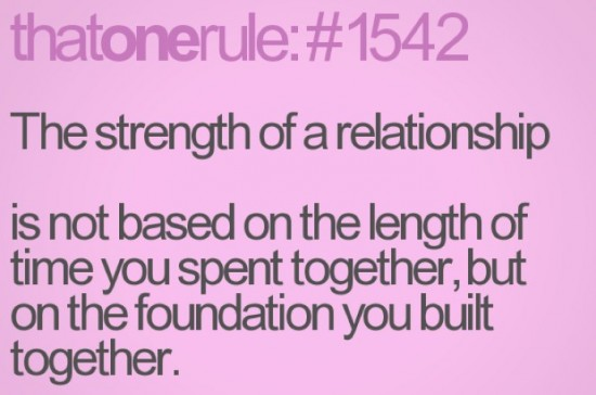 strength in a relationship