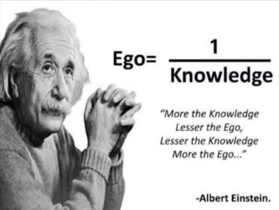 ego is dangerous in a relationship - albert knows