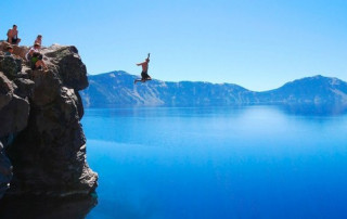 jump forward into life