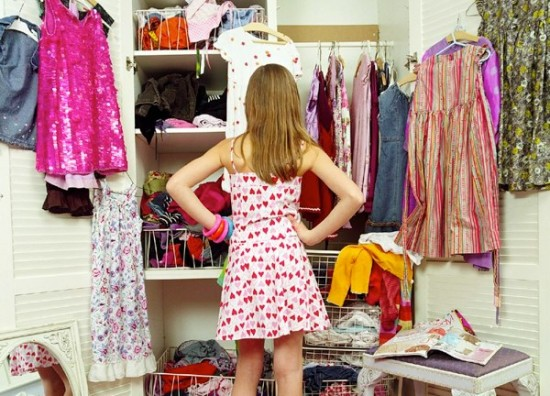 full closet and nothing to wear