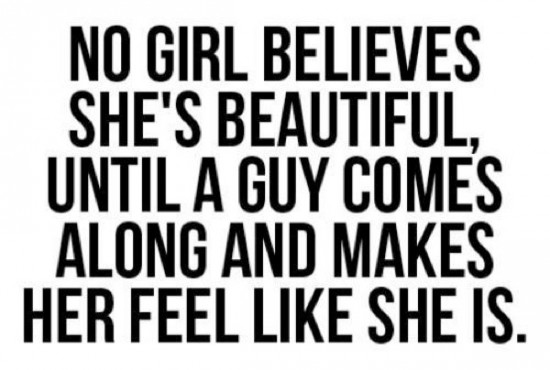 guys like girls who really are the most beautiful girl