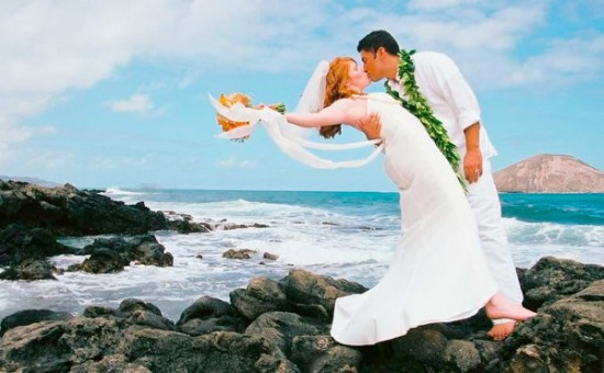 consider an island wedding for ultimate romance