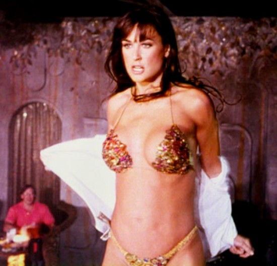 demi moore in striptease