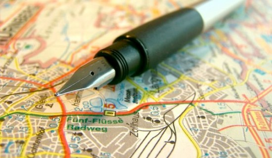 get your pen, maps and itinerary lists prepped
