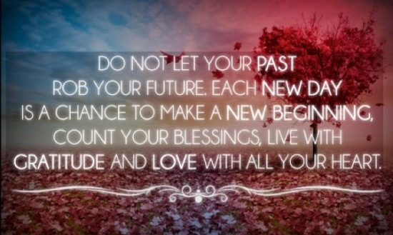 the past can lead to a better future