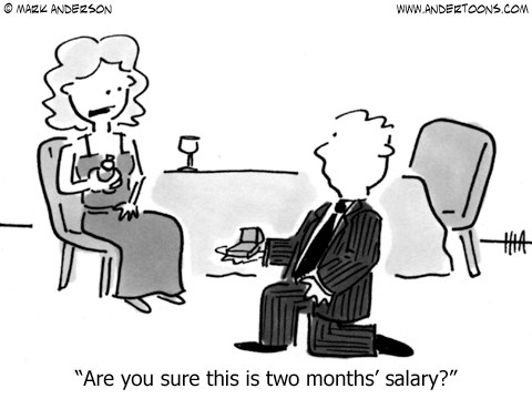 will you marry me with this salary