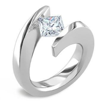 unusual designed engagement ring