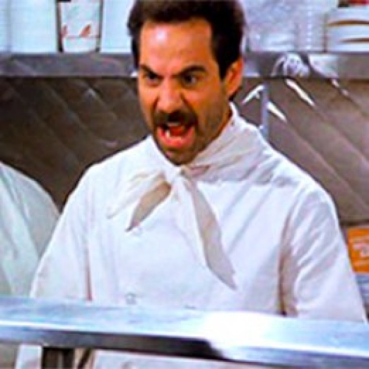 law of attraction from the soup nazi
