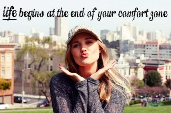 take the plunge and start enjoying life again