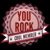 New Members Rock Badge