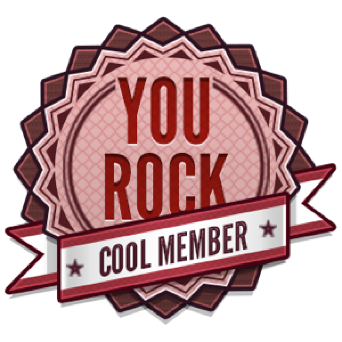 New Members Rock Badge