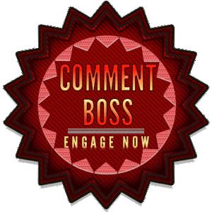 comment boss badge award