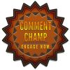 comment champ badge award