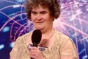 do you remember susan boyle and her first appearance?