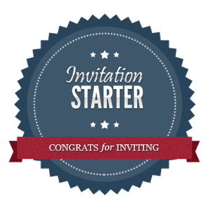 invitation starter achievement