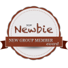 new group member achievement badge