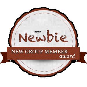 new group member achievement badge