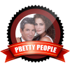 pretty people badge award