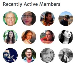 recently active members