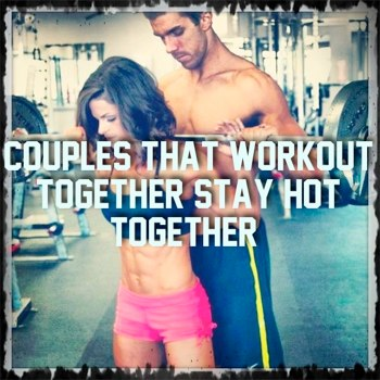 should couples workout together