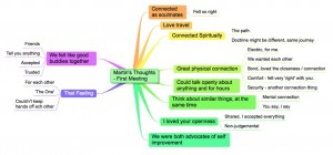 the real us mindmap in the beginning