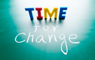 time for change - can you?