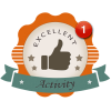 Activity First Starter Award Badge