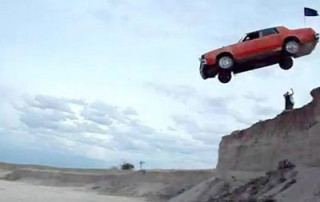 driving over a cliff to divorce