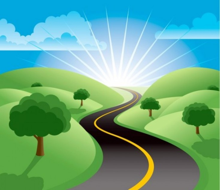 the road to happiness and love
