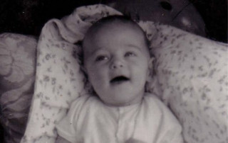 a baby martin cooney at 7 months