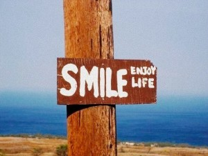 smile and reduce the stress in life