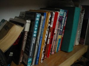 secrets on the bookshelf