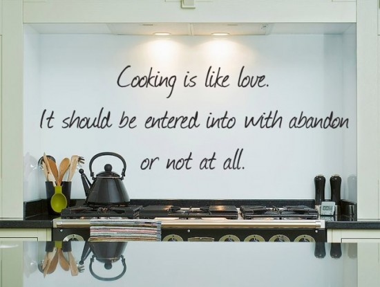 find your own cooking love