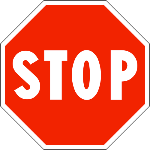stop at the wrong relationship signs