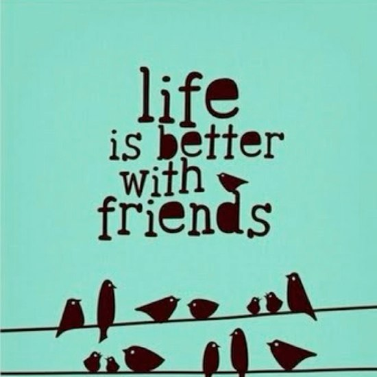 real friends make life worth living