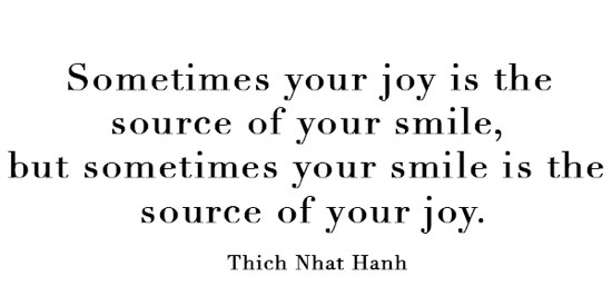 Give someone else the joy