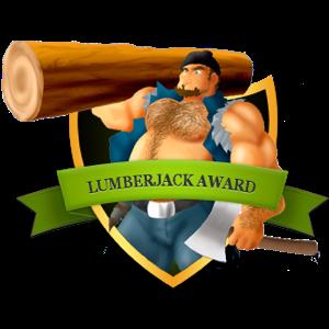 lumberjack badge award