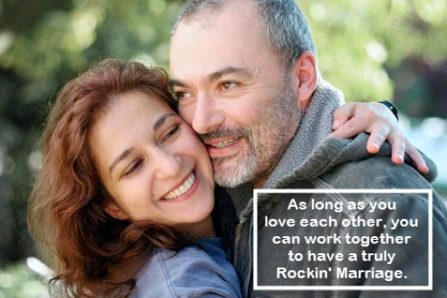 Love each other in all ways and work out problems. Makes Sense, doesn't it?
