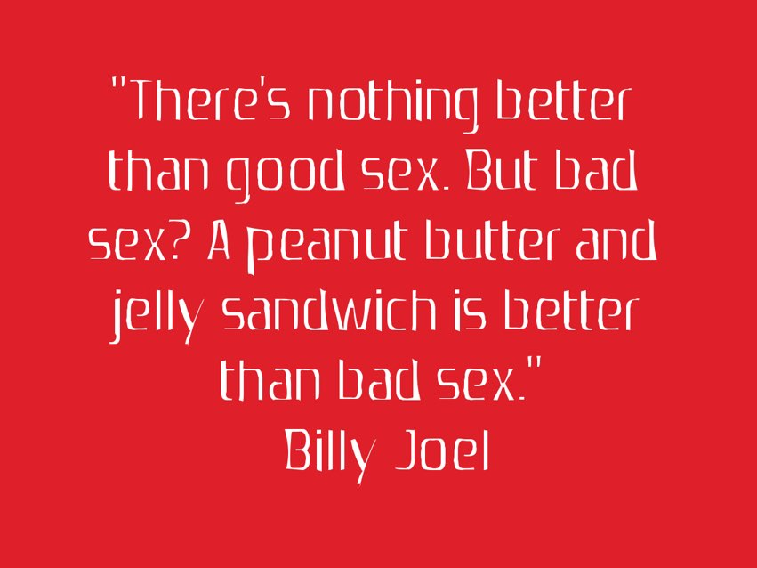bad sex is just bad