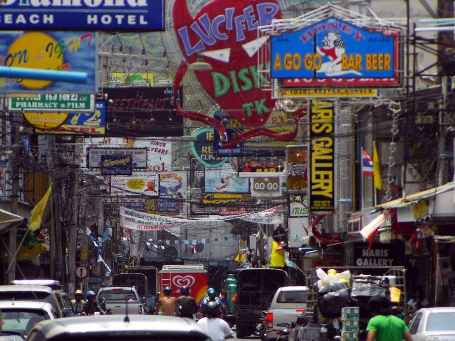 Walking Street, Pattaya hotels